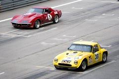 klasyczna wyścig samochodów Obraz Stock