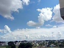 klasyczne chmury zdjęcie royalty free