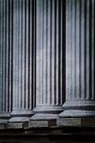 klasyczne kolumny zdjęcie royalty free