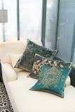 klasyczne lounge poduszki Obraz Royalty Free