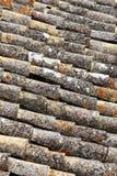 Klasyczne płytki dachy sciacca, Sicily zdjęcie stock