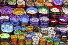 Klasyczne Tureckie ceramika obrazy royalty free