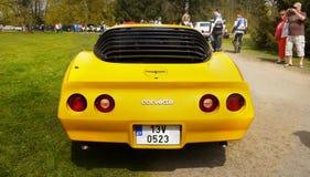 Klasycznego Amerykańskiego mięśnia sporta Retro samochód Obraz Royalty Free