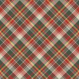 Klasycznego czeka tartanu tkaniny diagonalna bezszwowa tekstura Fotografia Stock