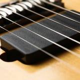 Klasycznego kształta drewniana gitara elektryczna z rosewood szyją Obraz Stock