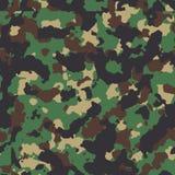 Klasycznego lasu camo bezszwowy wzór Fotografia Stock