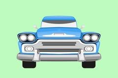 Klasycznego rocznika retro samochód, projekt Zdjęcia Stock