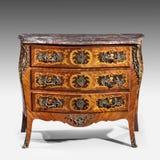 Klasycznego starego oryginalnego eleganckiego rocznika drewniana klatka piersiowa kreślarza rzep zdjęcie royalty free