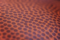 Klasycznej koszykówki szczegółu skóry powierzchni tekstury balowy tło Obrazy Royalty Free