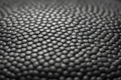 Klasycznej koszykówki szczegółu skóry powierzchni tekstury balowy tło Zdjęcie Royalty Free