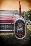 Klasyczni Amerykańscy samochodów szczegóły Obrazy Stock