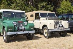 Klasyczni Brytyjscy samochody Obraz Stock