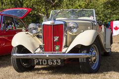 Klasyczni Brytyjscy samochody Zdjęcie Stock