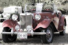 Klasyczni Brytyjscy samochody Fotografia Stock