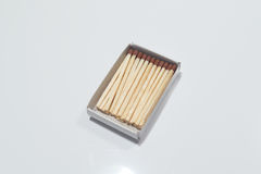 Klasyczni drewniani dopasowania Fotografia Stock