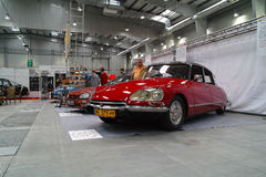Klasyczni francuscy samochody Zdjęcia Royalty Free