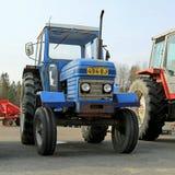 Klasyczni 255 Leyland Rolniczy ciągnik Fotografia Royalty Free