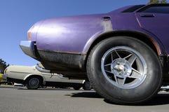 Klasyczni mięśni samochody Obrazy Royalty Free