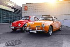 Klasyczni niemieccy samochody Fotografia Royalty Free
