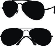 klasyczni okulary przeciwsłoneczne Fotografia Stock