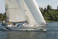 Klasyczni 42 omegi Sztokholm żegluje archipelag Fotografia Royalty Free