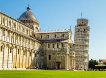 Klasyczni punkty zwrotni Pisa, Włochy obrazy royalty free