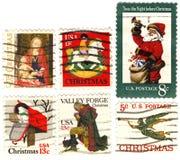 klasyczni rzadcy znaczki usa Zdjęcie Royalty Free