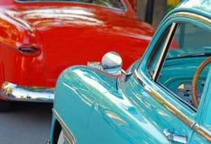 Klasyczni samochody Zdjęcia Stock