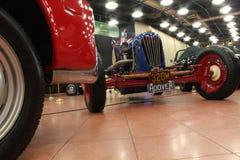 Klasyczni samochody muzealni Zdjęcia Royalty Free