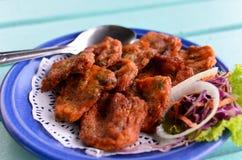 Klasyczni Tajlandzcy Rybi Torty Zdjęcie Stock