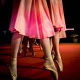 Klasyczni tanów ruchy Zdjęcia Royalty Free
