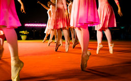 Klasyczni tanów ruchy Fotografia Royalty Free