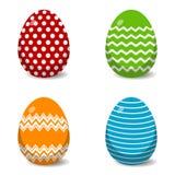 Klasyczni Wielkanocnego jajka wzory Eps10 Wektor royalty ilustracja