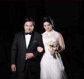 Klasyczny ślub Fotografia Stock