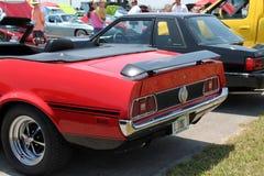 Klasyczny amerykański sporta samochodu tylni szczegół Obraz Royalty Free