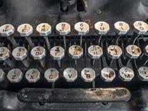 Klasyczny Angielski maszyna do pisania Obrazy Stock