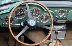 Klasyczny Aston oknówki wnętrze Obrazy Stock