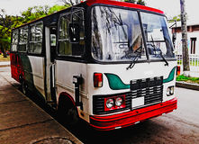 Klasyczny autobus Fotografia Royalty Free