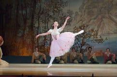 Klasyczny balet Giselle fotografia royalty free