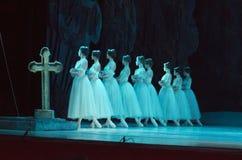 Klasyczny balet Giselle obraz stock