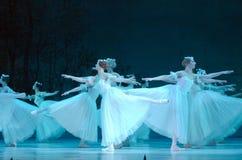 Klasyczny balet Giselle zdjęcie royalty free