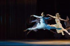 Klasyczny balet Romeo i Juliet obrazy stock