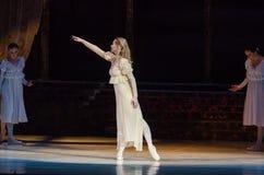 Klasyczny balet Romeo i Juliet zdjęcie royalty free
