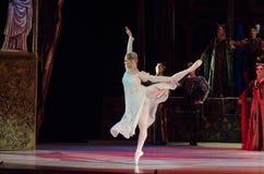 Klasyczny balet Romeo i Juliet zdjęcia royalty free