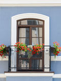 Klasyczny balkon Obrazy Stock