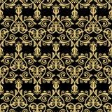 Klasyczny Bezszwowy wektoru wzór Obraz Royalty Free