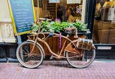 Klasyczny bicykl - Holandia Obrazy Royalty Free