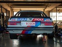 Klasyczny BMW 635 CSi samochód wyścigowy Obrazy Stock
