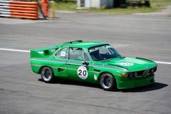 Klasyczny BMW Krajoznawczy samochód w akci Zdjęcie Stock