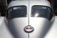 Klasyczny Chevrolet korwety samochód Obraz Stock